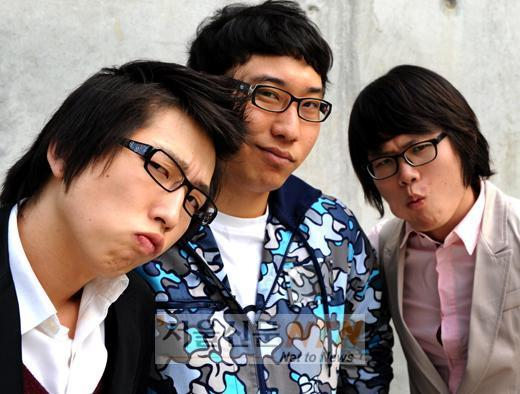 The Poisonous guys, from left: Jung Bum Gyun, Gwak Han Gu, Choi Hyo Jong