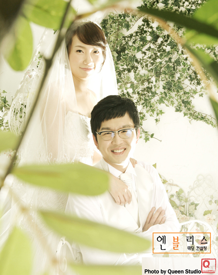 Best wishes to this sweet couple~! ^^